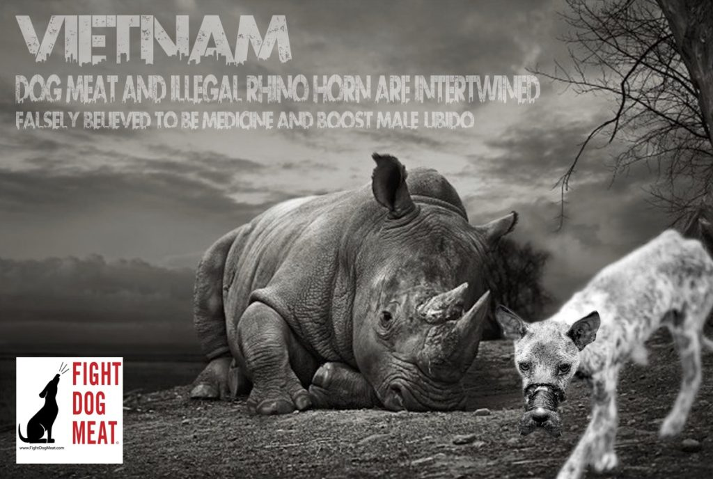 Vietnam: Rhino Horn and Dog Meat Interlinked