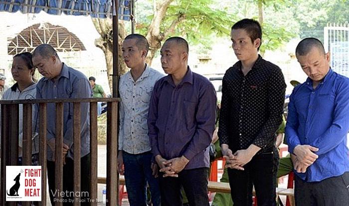 Vietnam: 30 Years Jail For Six Dog Thieves