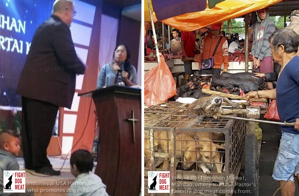 Indonesia: American Pastor Promotes Dog Meat